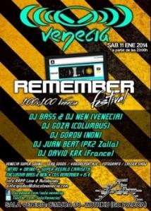 Fiesta Remember Venecia 11-1-14