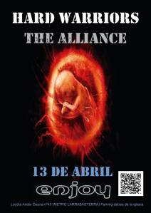 HARD WARRIORS THE ALLIANCE - Fiesta Hard en Vizcaya