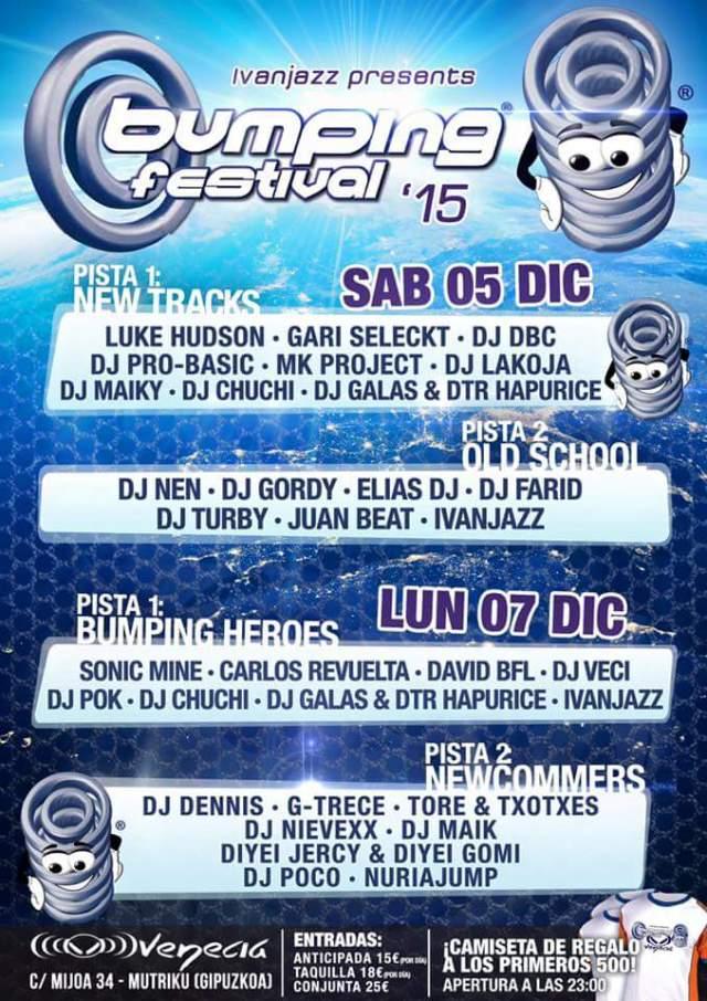 Cartel del Bumping Festival 2015 juanbeat.com