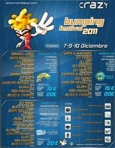 Bumpin Festival 2011 Sala Non Crazy Juan Beat Calendario