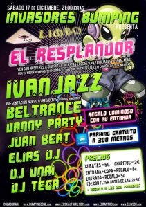 Invasores Bumpin 17 de Diciembre Elias dj; Danny Party; Juan Beat; Ivanjazz; limbo; zalla, pk2