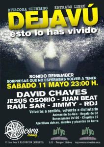 Fiesta dejavu en sala bitacora Clubbing - Alcorcon Madrid