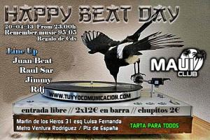 Fiesta Haapy Beat Party en Sala Moui Madrid