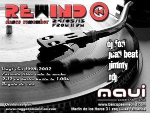 Rewind fiesta remember sala maui madrid
